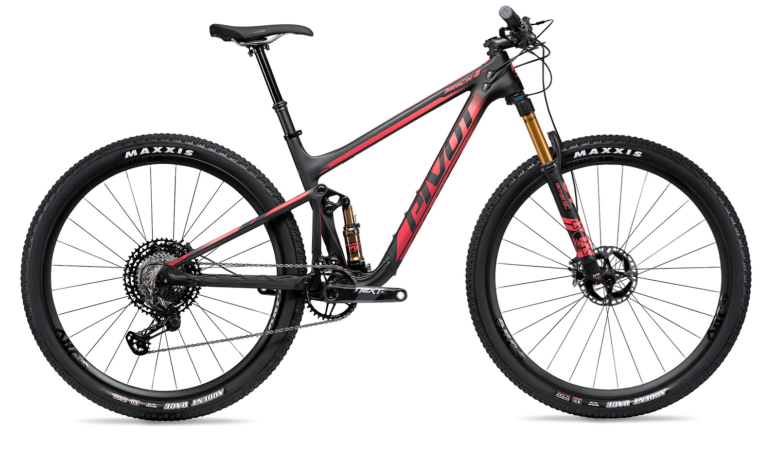 2020 Pivot Mach 4 SL in Cherry (Team XTR model pictured)