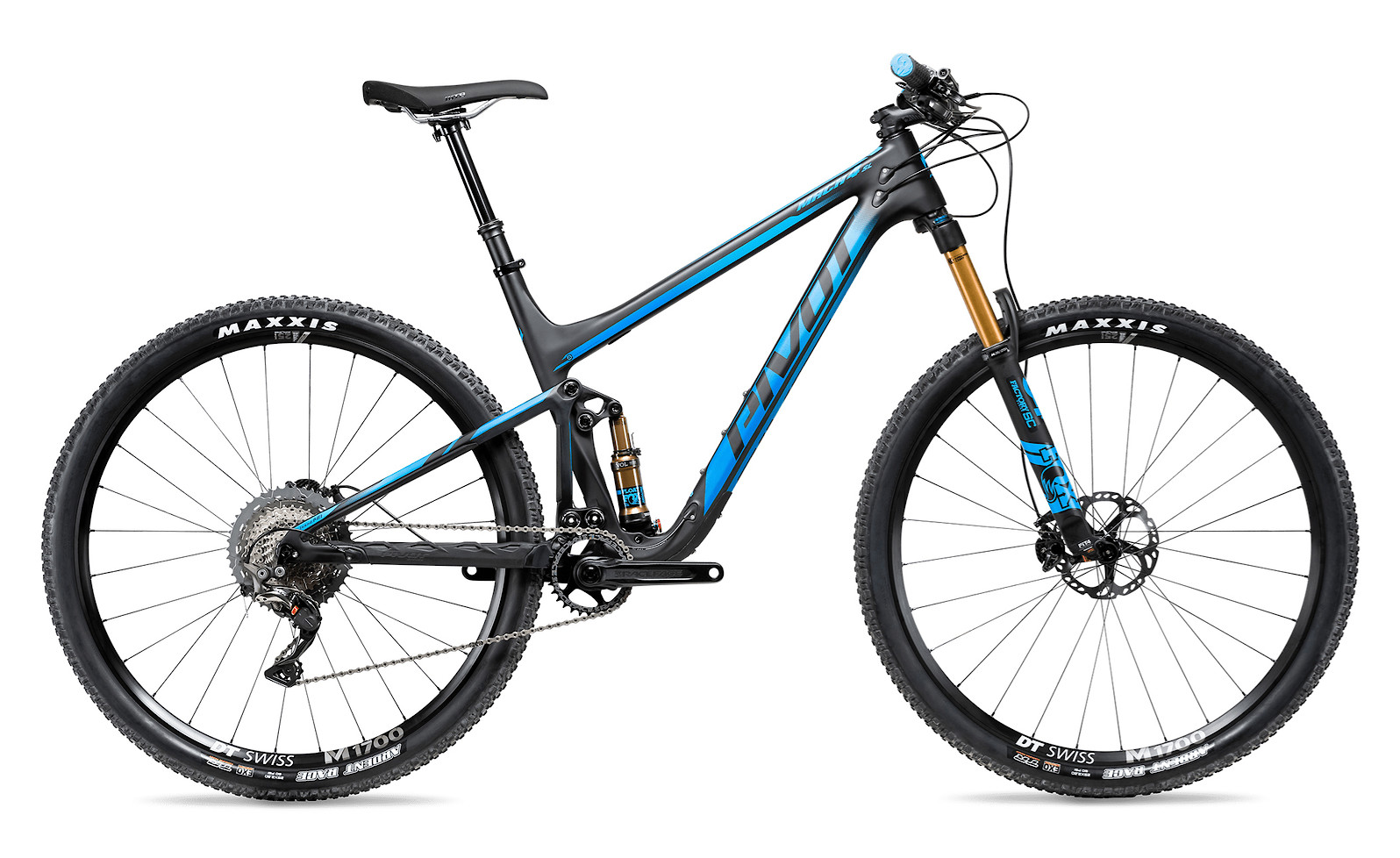 2020 Pivot Mach 4 SL in Team Blue (Pro XT/XTR model pictured)