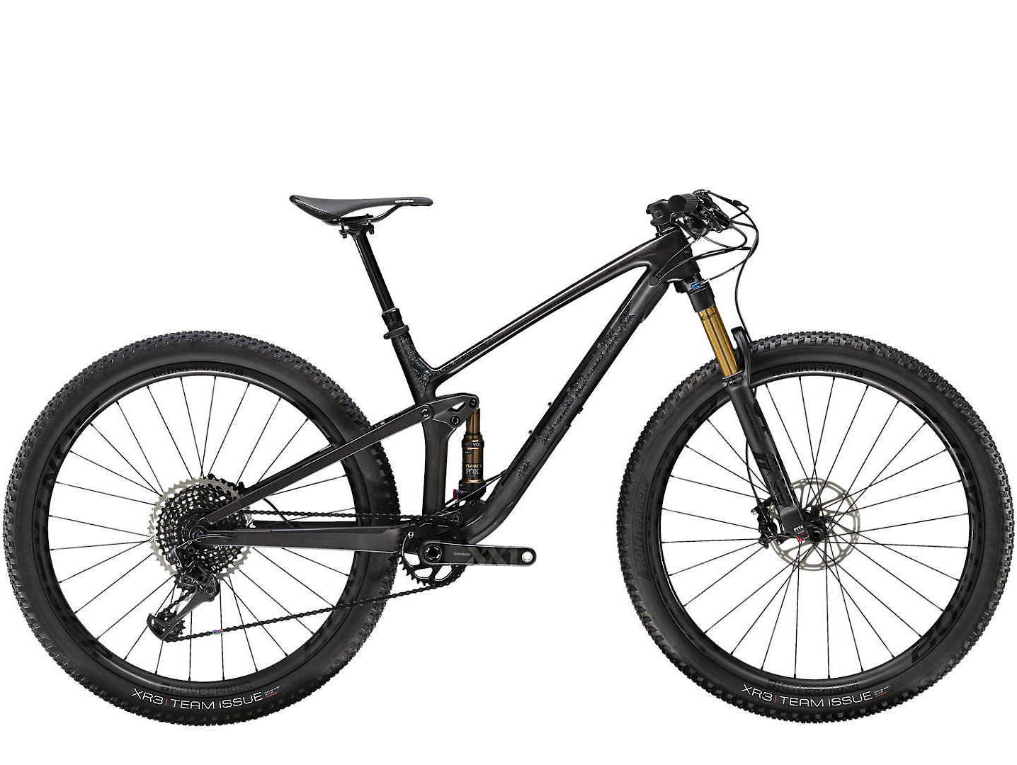 2020 Trek Top Fuel 9.9 in Matte Carbon/Gloss Trek Black