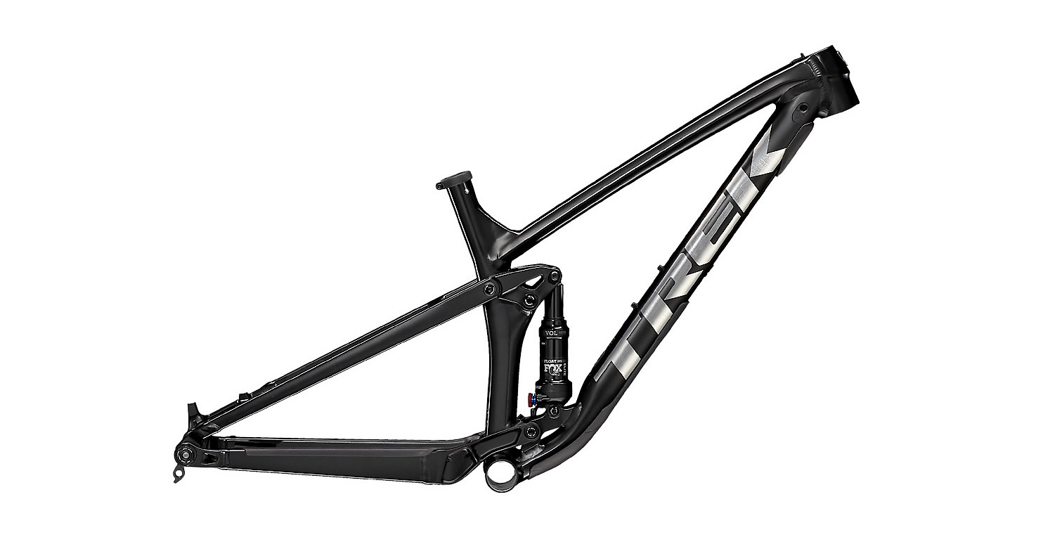 Trek Top Fuel AL Frame - Satin Trek Black