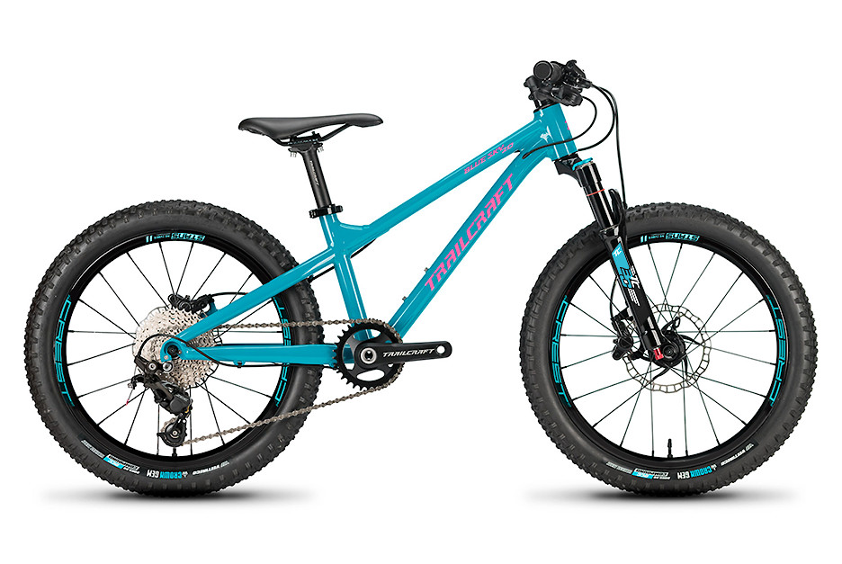 2019 Trailcraft Blue Sky 20 Stan's Crest MK3 Pro Deore Turquoise