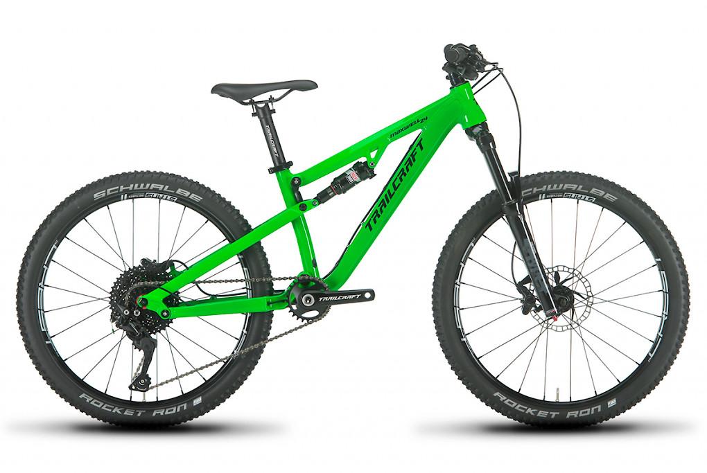 2019 Trailcraft Maxwell 24 Pro Deore Neon Green