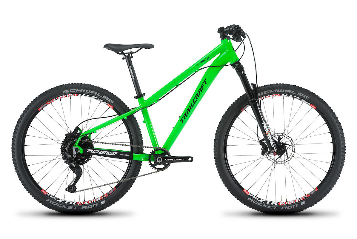 2019 Trailcraft Timber 26 Pro Deore Neon Green