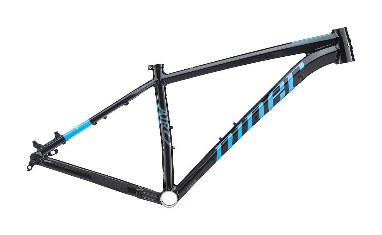 Niner AIR 9 aluminum frame in Black/Neon Blue
