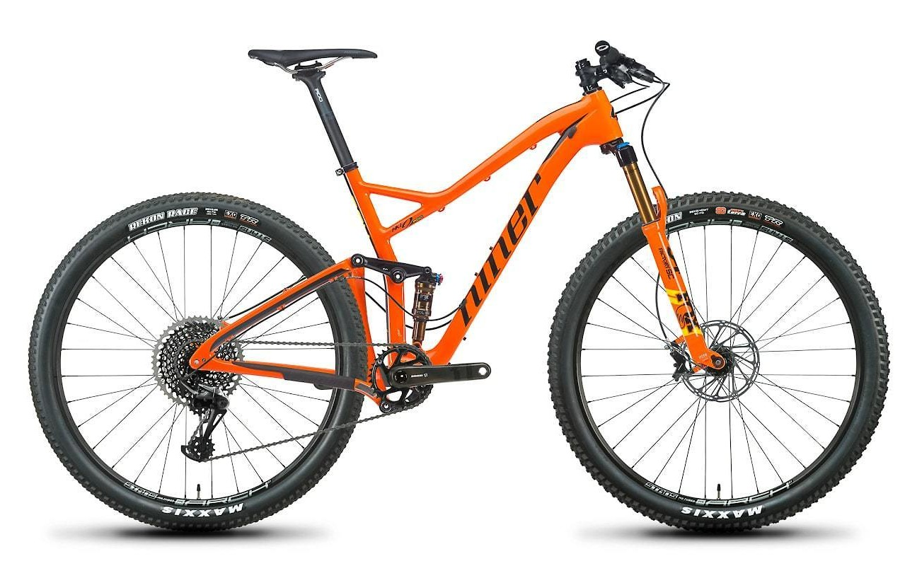 Niner RKT 9 RDO 4-Star X01 in Orange/Black