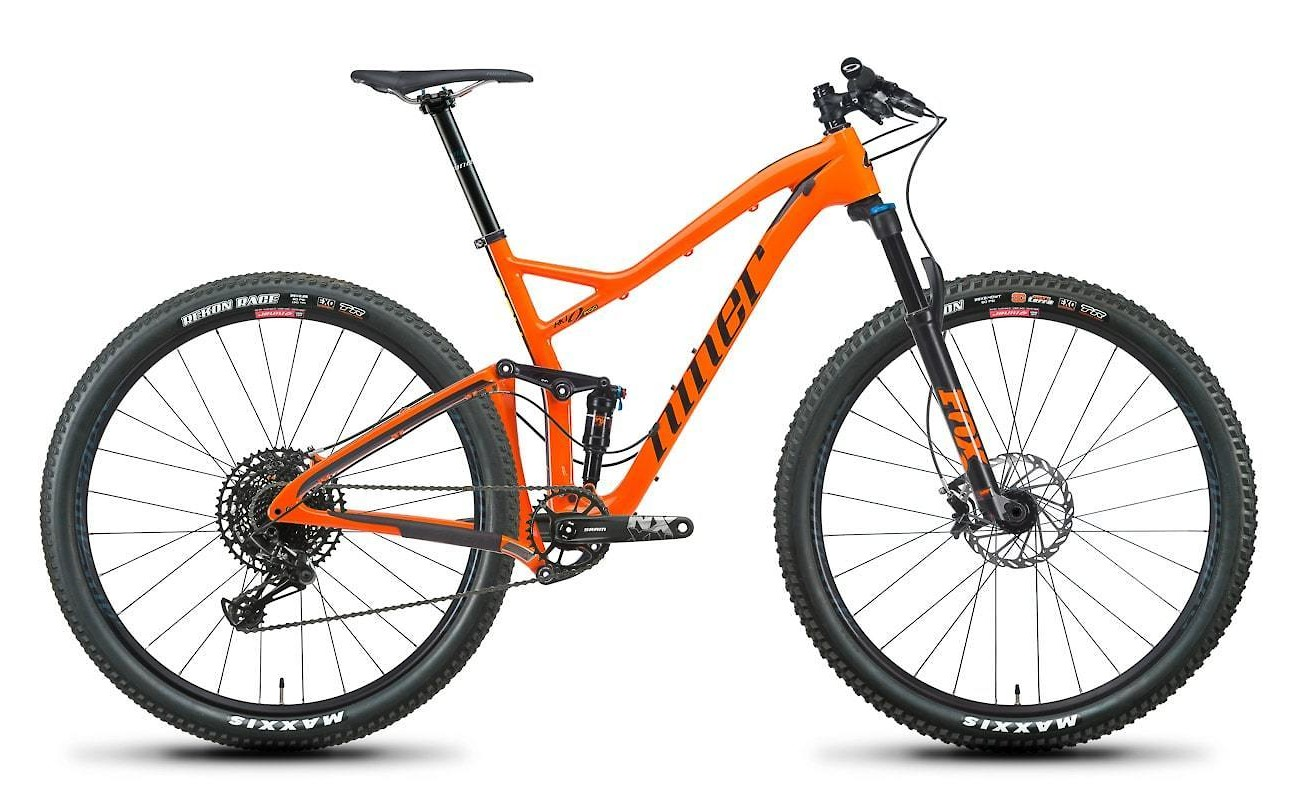 2019 Niner RKT 9 RDO 2-Star NX Eagle in Orange/Black