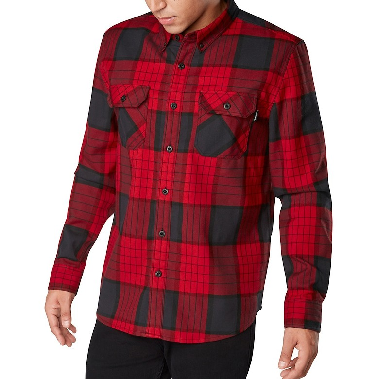 Dakine Reid Tech Flannel - Crimson Red