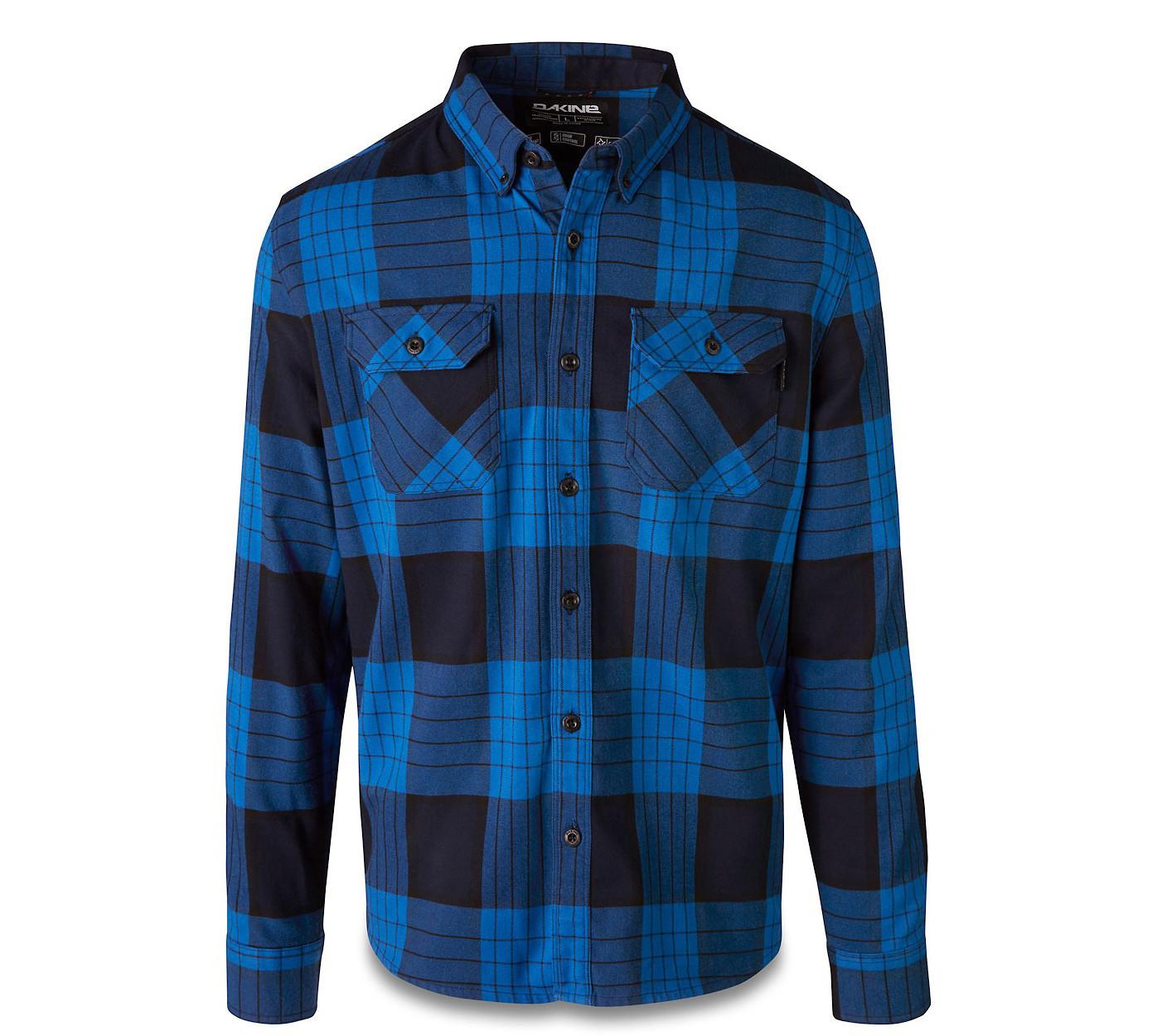 Dakine Reid Tech Flannel - Cobalt Blue