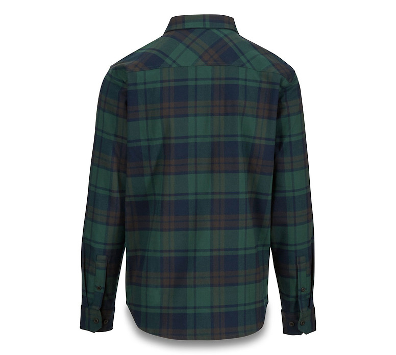 Dakine Reid Tech Flannel - Mallard Green