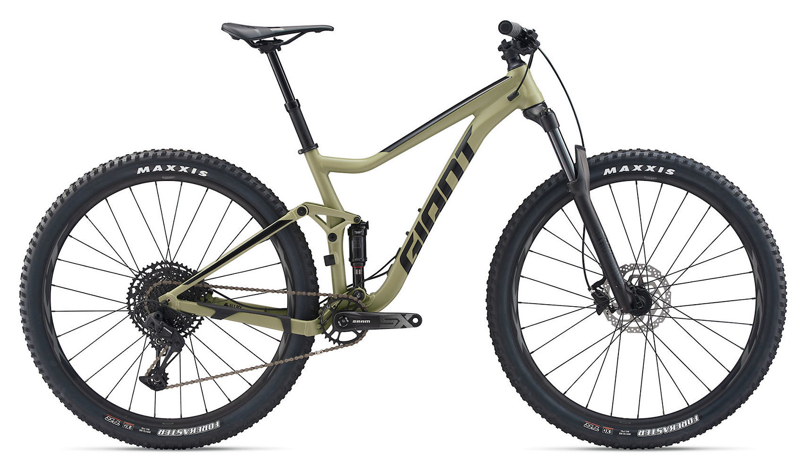 """2020 Giant Stance 29"""" 1 in Olive Green/Black"""