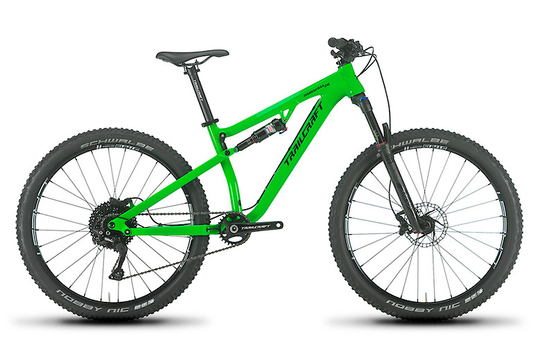 Trailcraft Maxwell 26 Pro Deore Neon Green