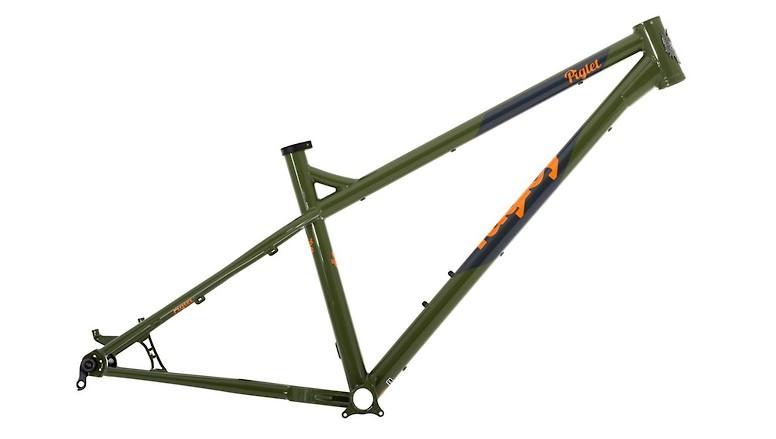 Ragley Piglet Frame (Green/Orange)