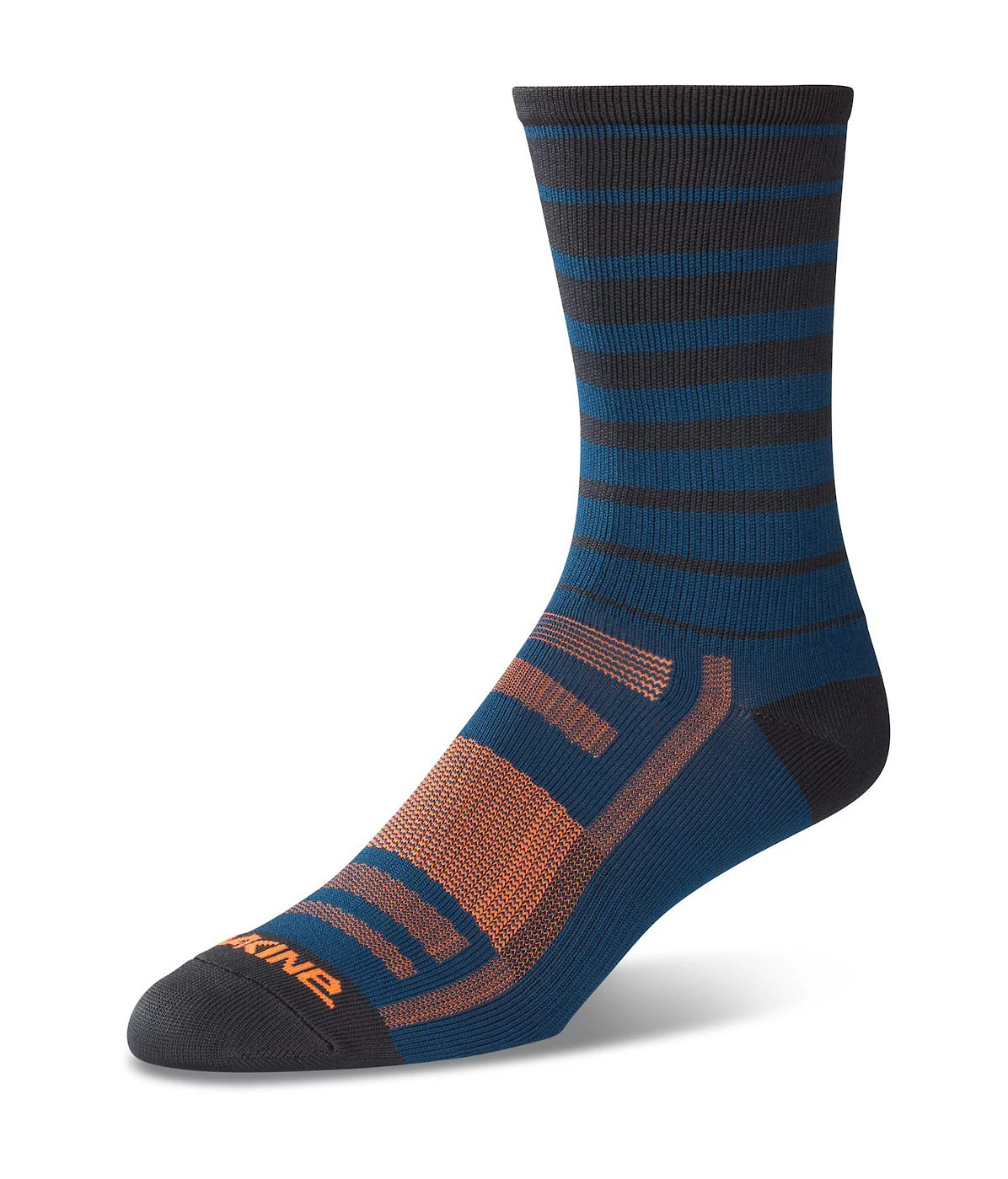 Dakine Singletrack Sock - Slate Blue Stripe