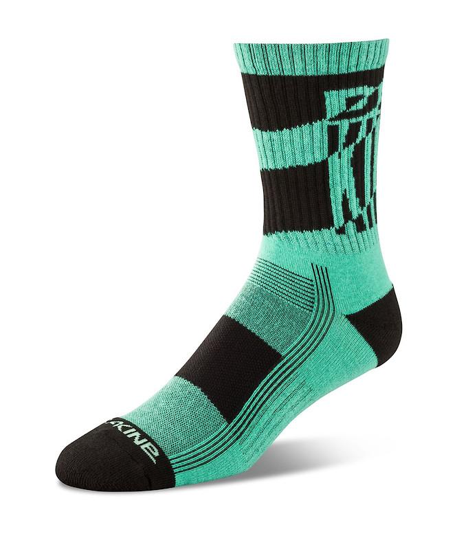 Dakine Step Up Sock - Electric Mint