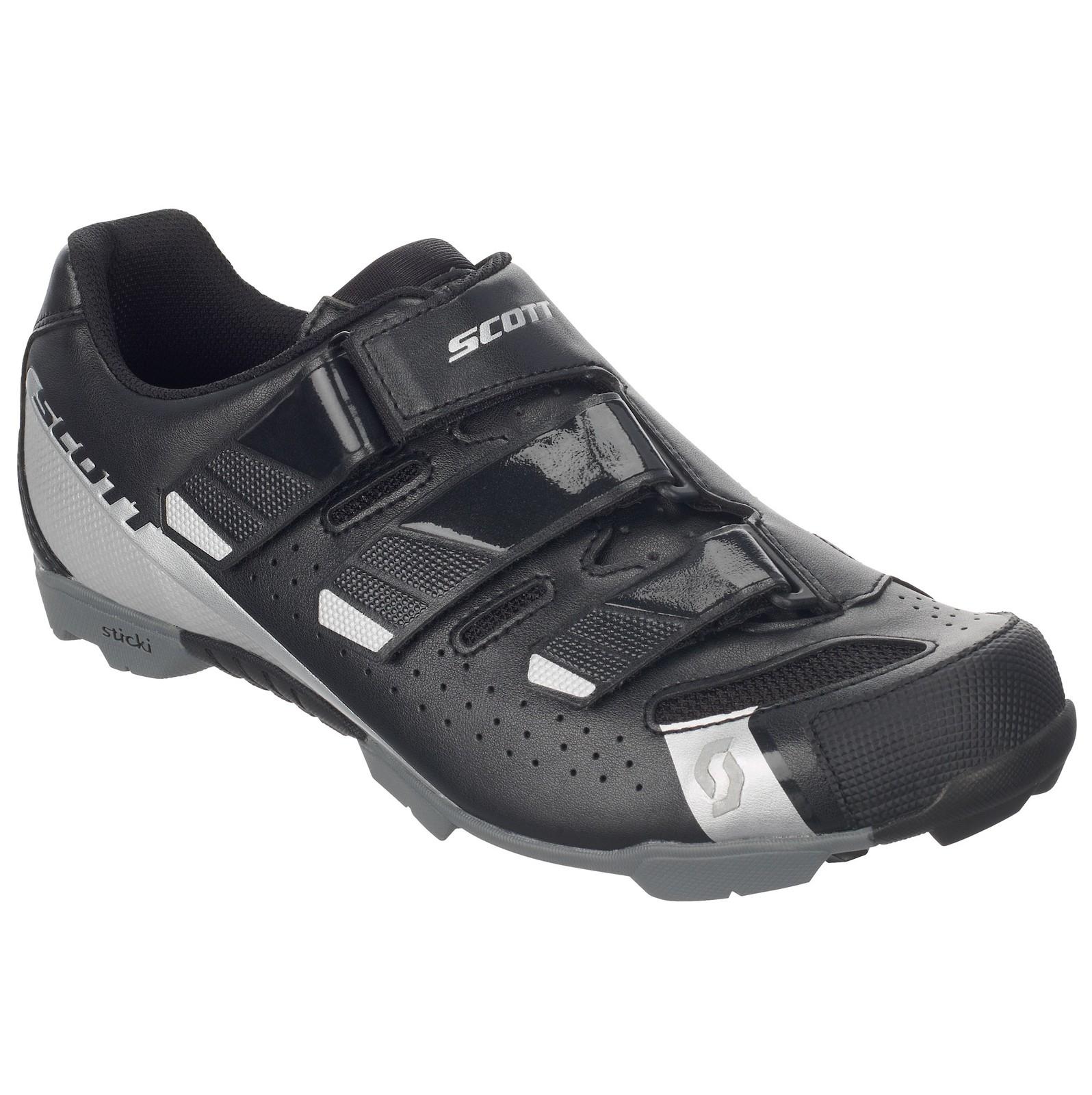 Scott Comp RS shoe in black/silver