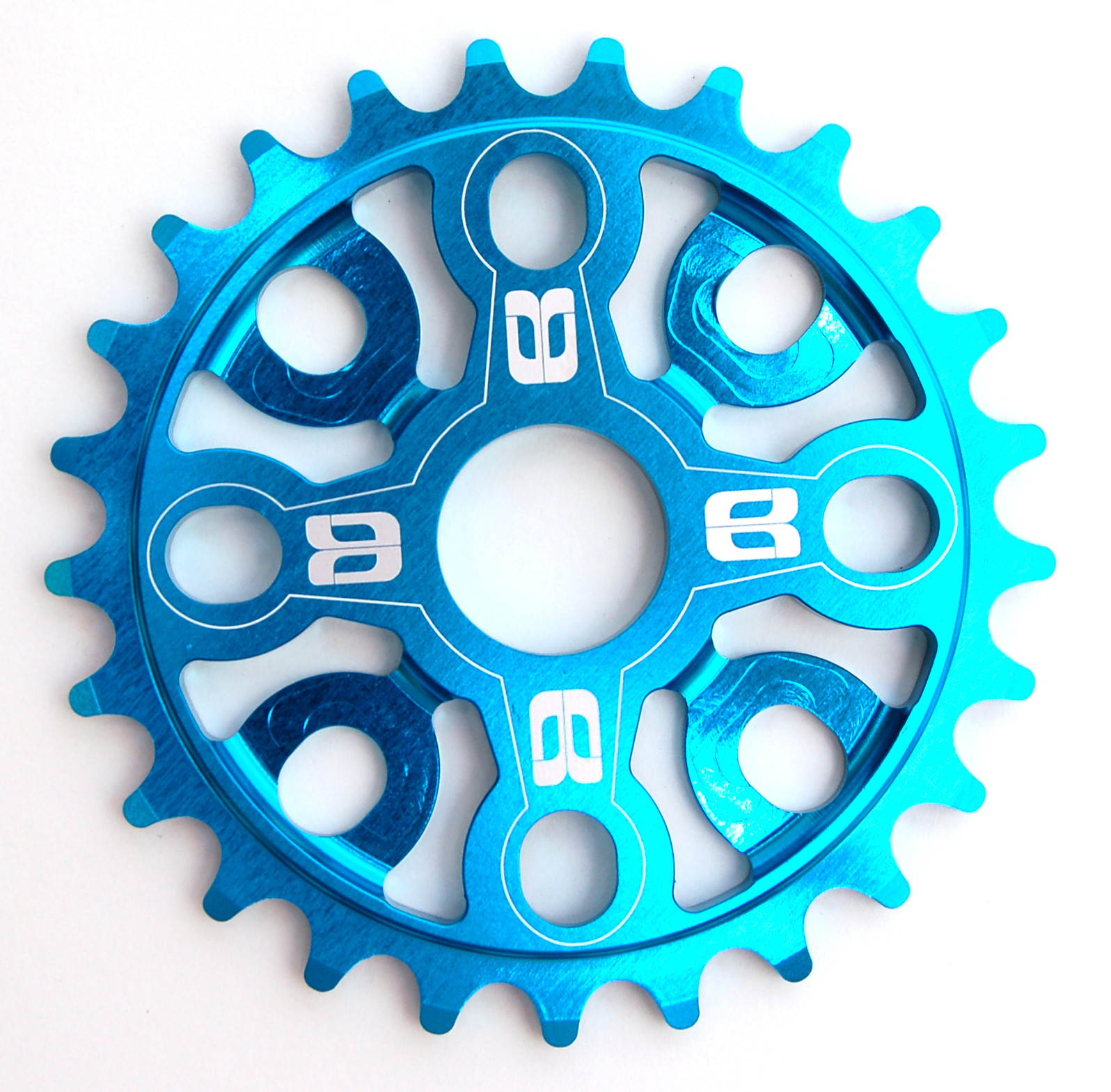 Eastern Medusa 3D Chainring Sprocket Medusa 3D Matte Hot Blue
