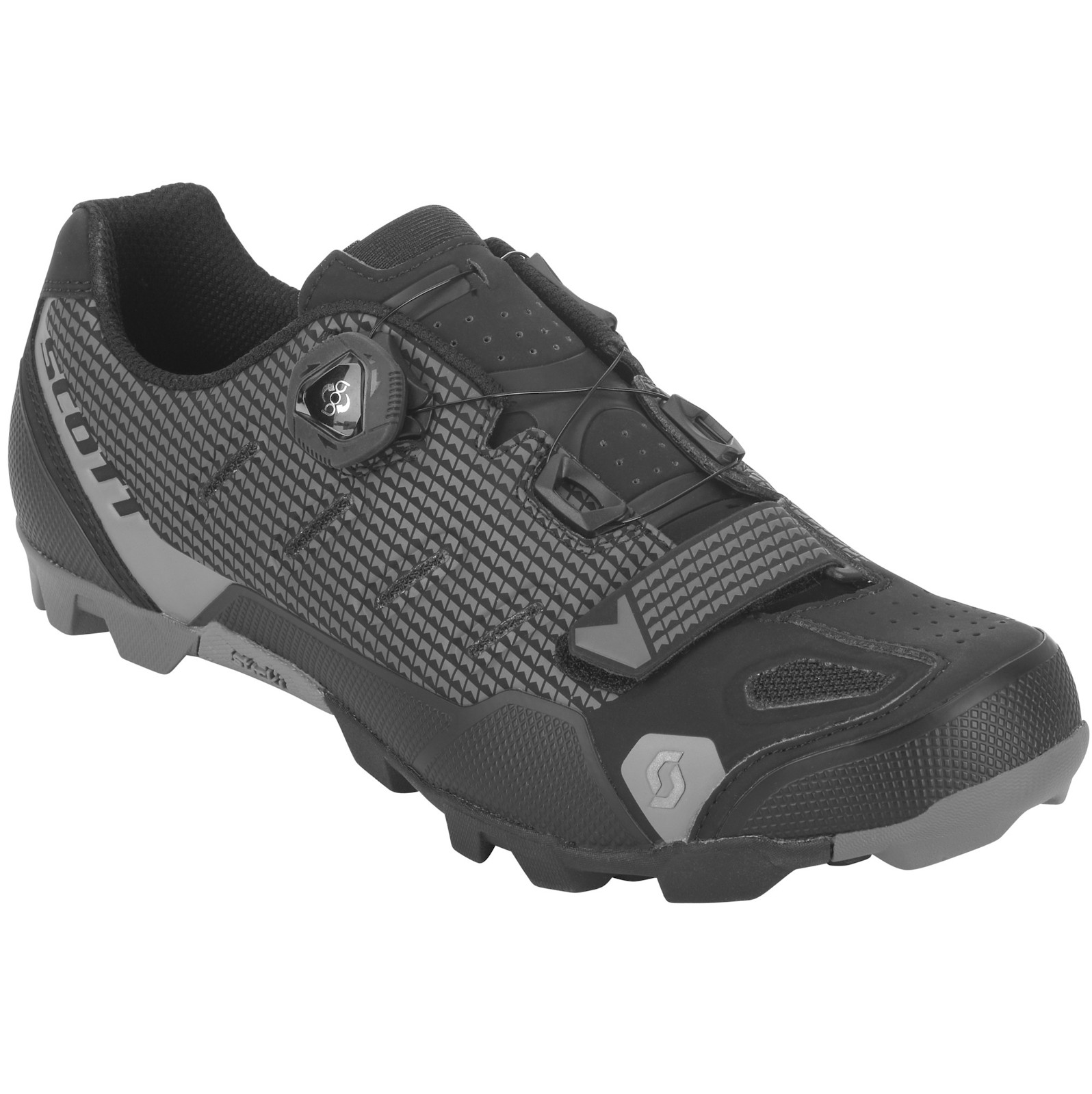 Scott Prowl-r RS shoe in matte black/matte anthracite