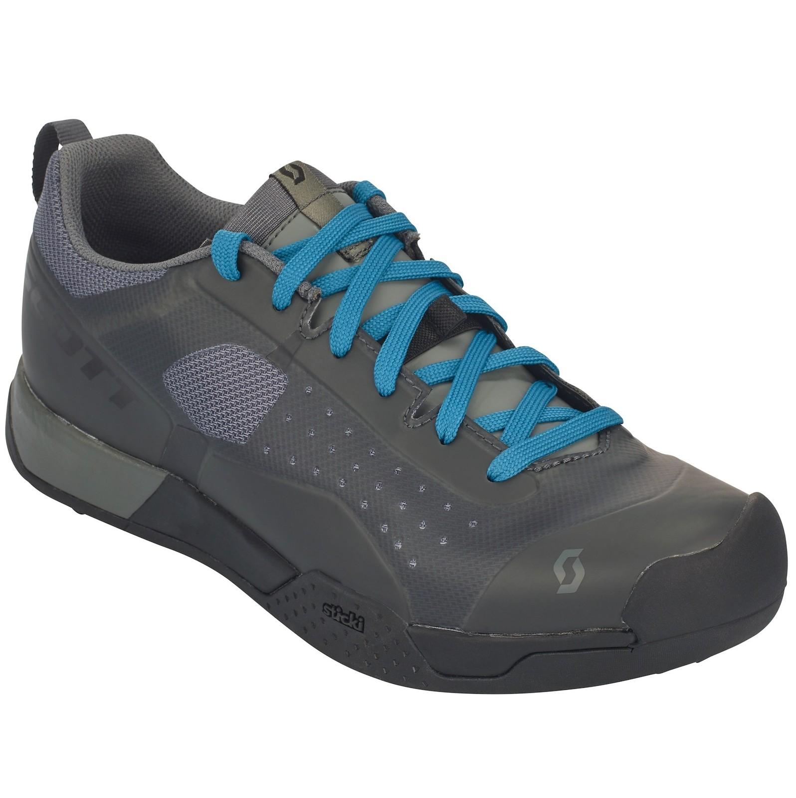 Scott AR Lace Clip shoe in black/grey