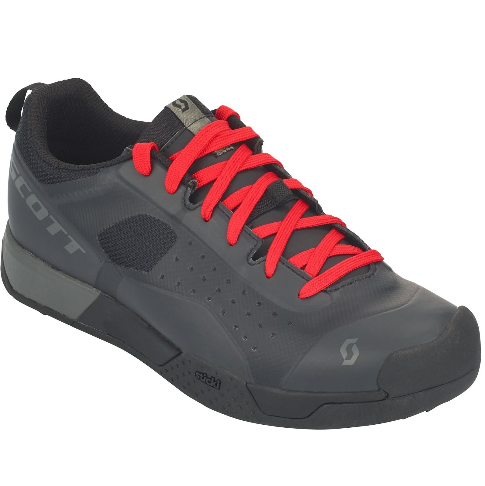 Scott AR Lace shoe in black/grey