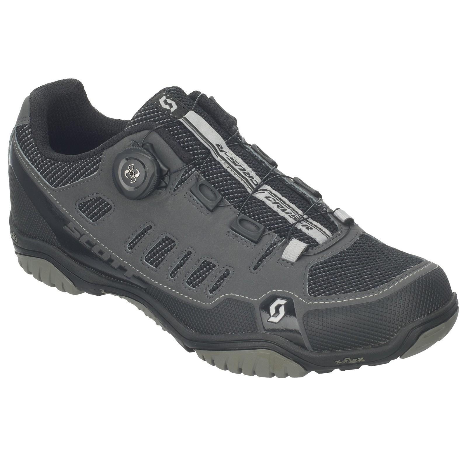 Scott Sport Crus-r Boa shoe in anthracite/black
