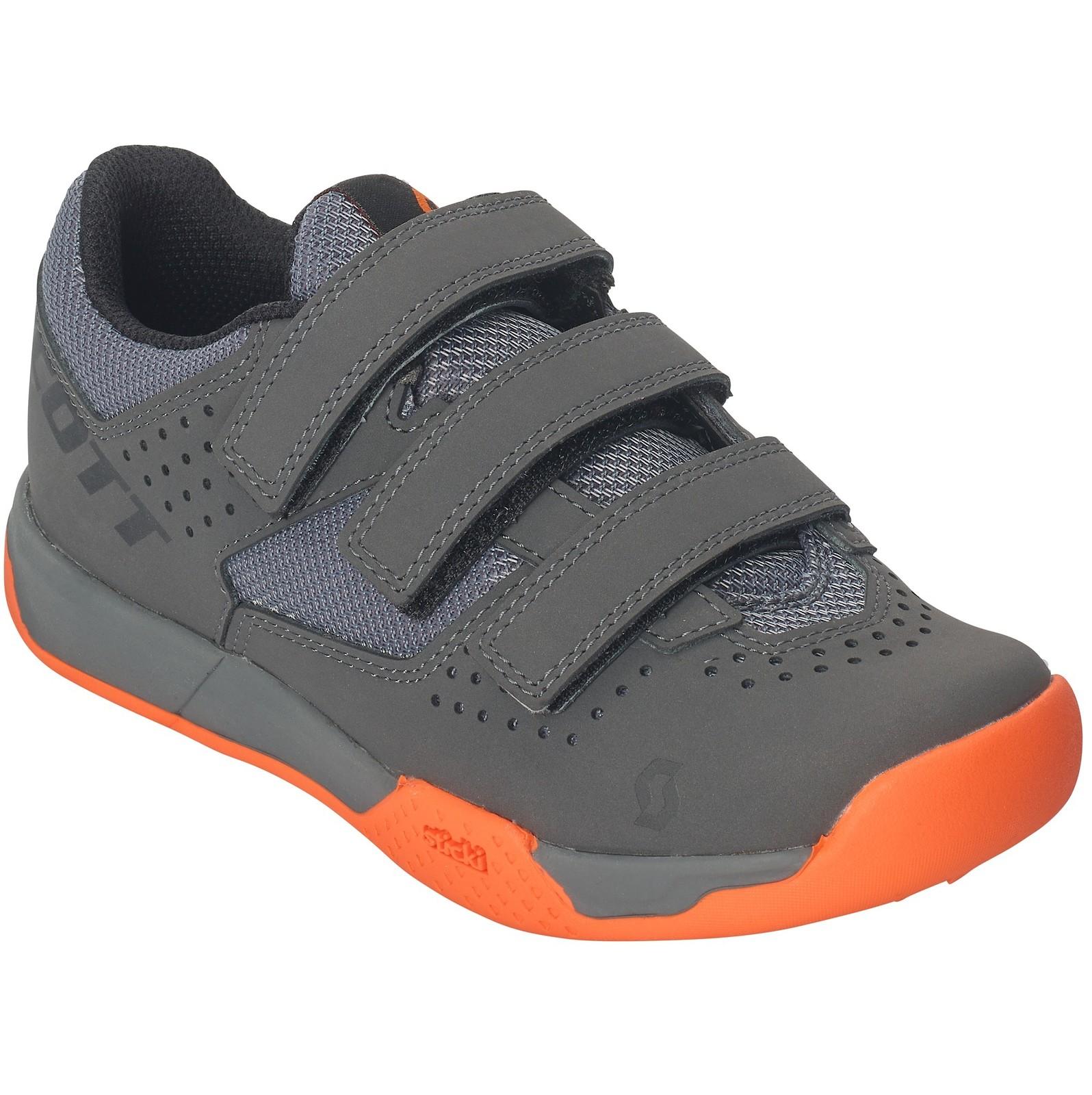 Scott AR Kid's Strap shoe in grey/orange