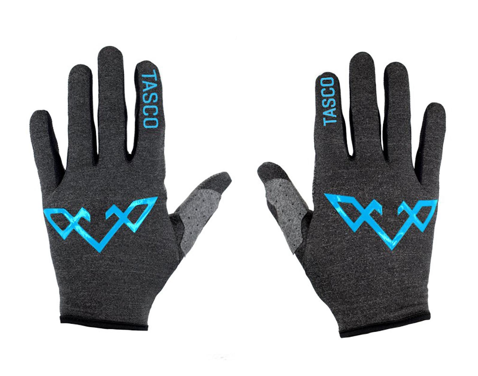 RECON Ultralight Cycling Gloves - Cyan Pop
