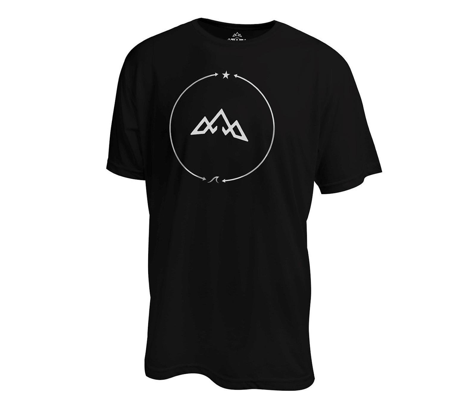 TASCO Sessions Bipolar Ride T-Shirt - Sea 2 Sky Black