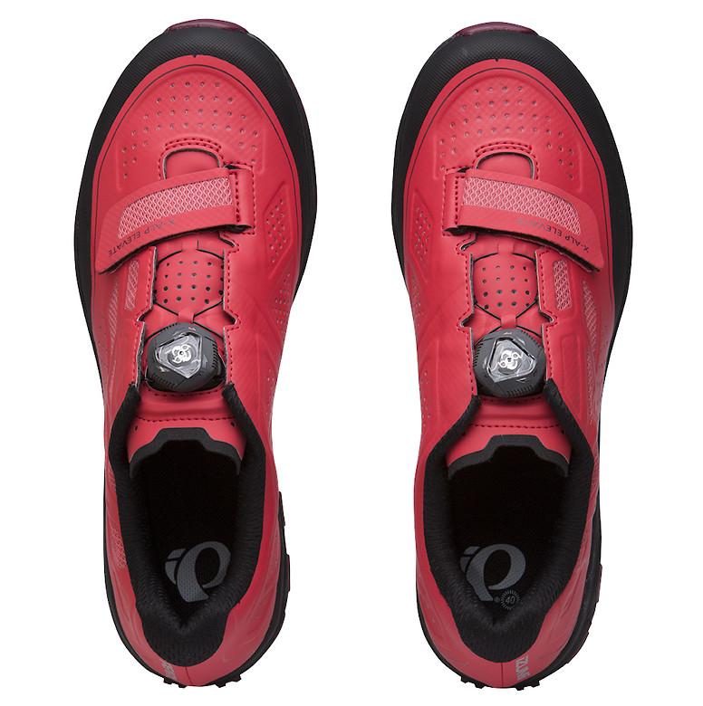 Pearl Izumi X-ALP Elevate women's shoe in cayenne/port