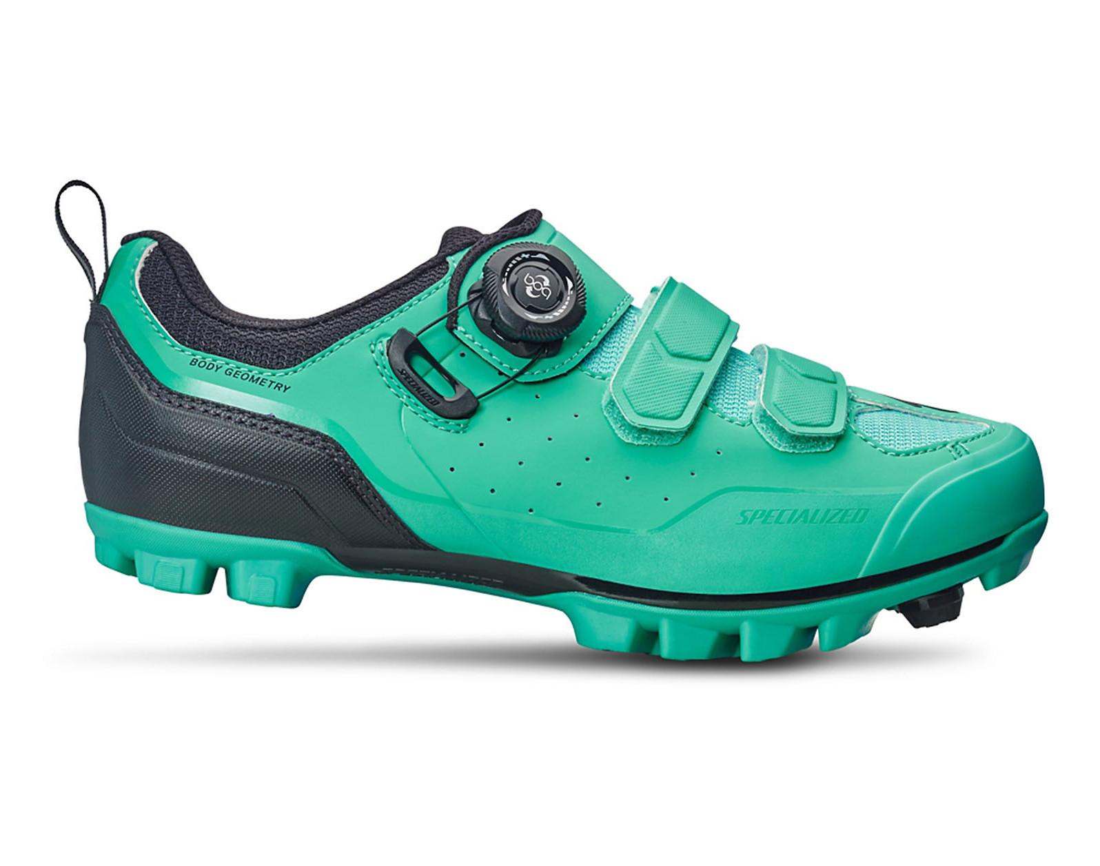 Specialized Motodiva Women's Clipless Shoe (Mint)