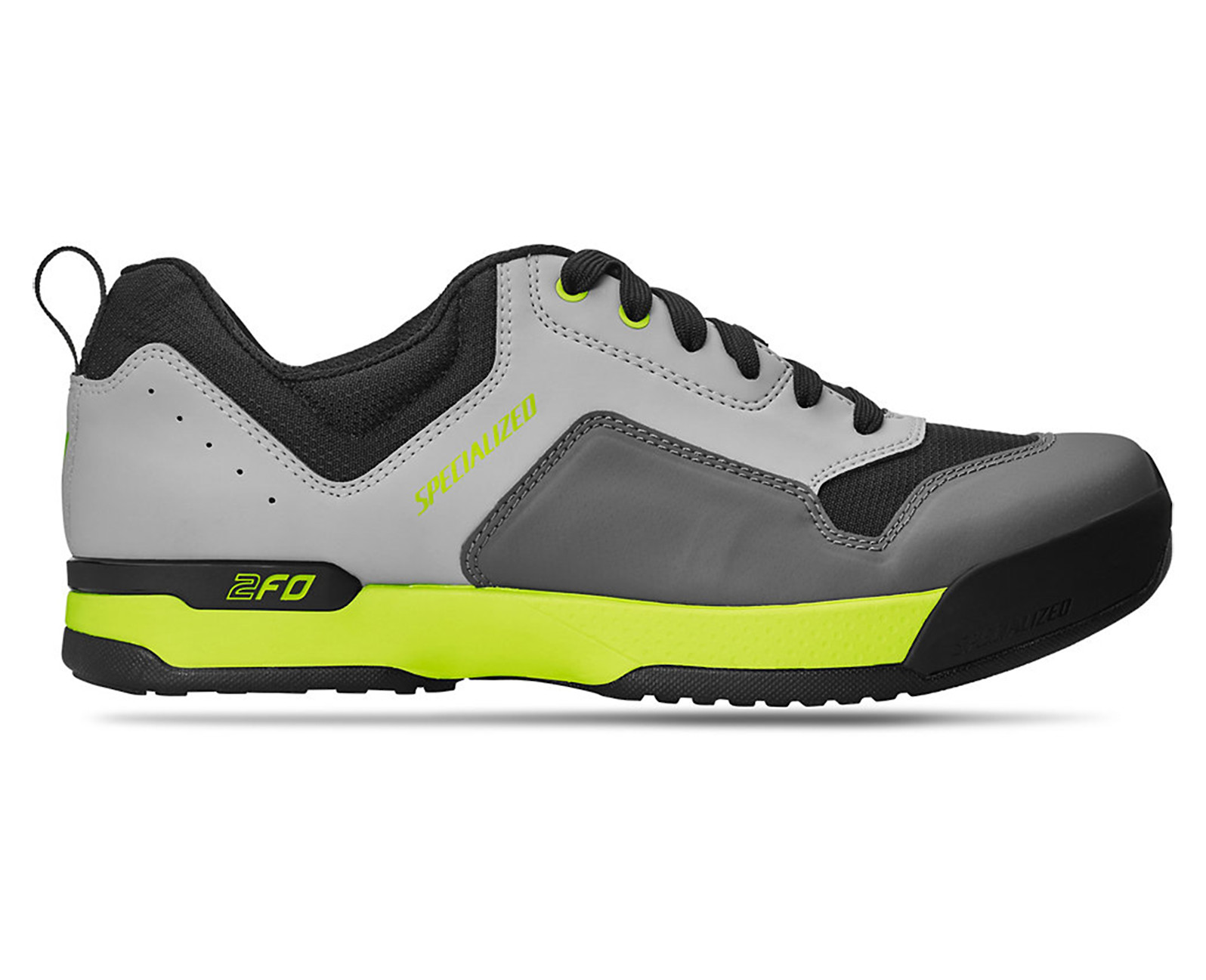 Specialized 2FO ClipLite Lace (Grey/Hyper Green)