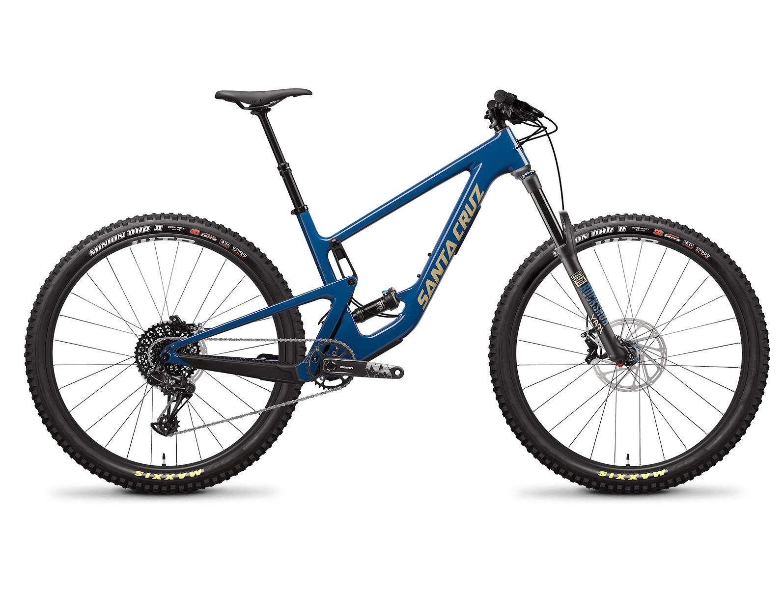 2020 Santa Cruz Hightower Carbon C R - Highland Blue