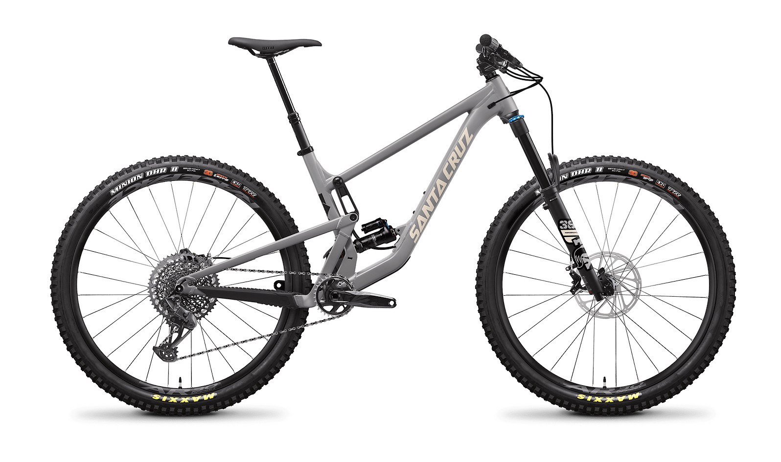 2021 Santa Cruz Hightower Aluminum - Smoke Grey and Ivory