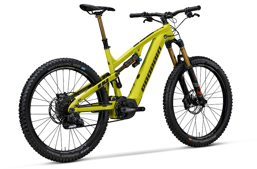 2019 Propain Ekano 150 in lime (alternate specs pictured)