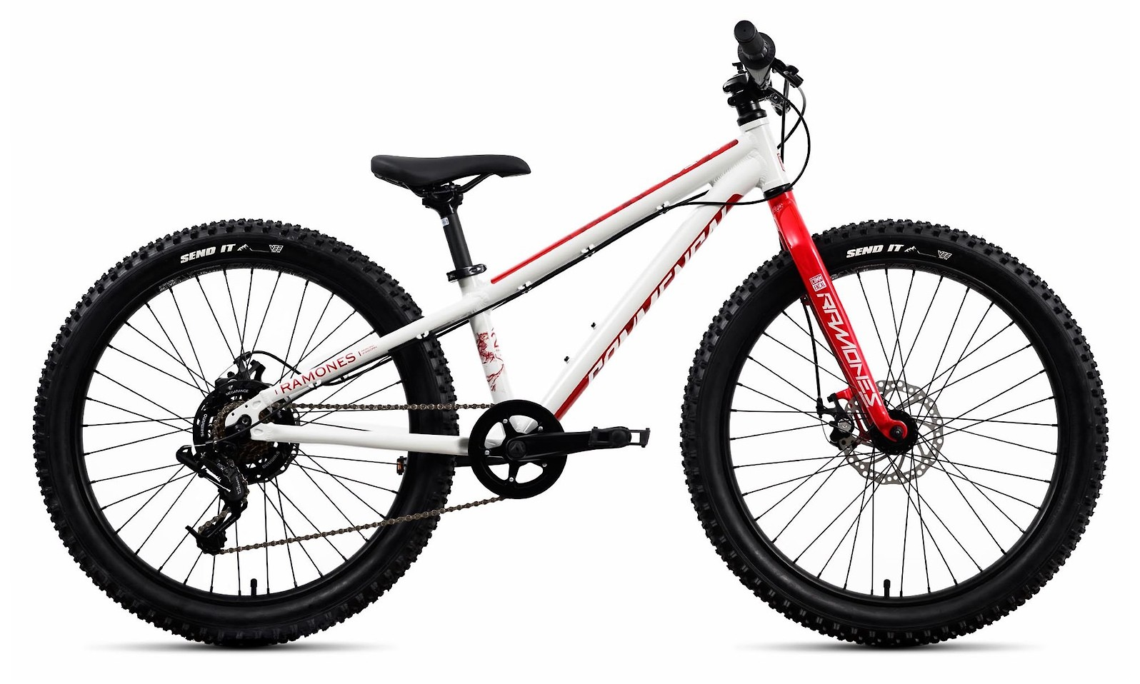 2020 Commencal Ramones 24 Red