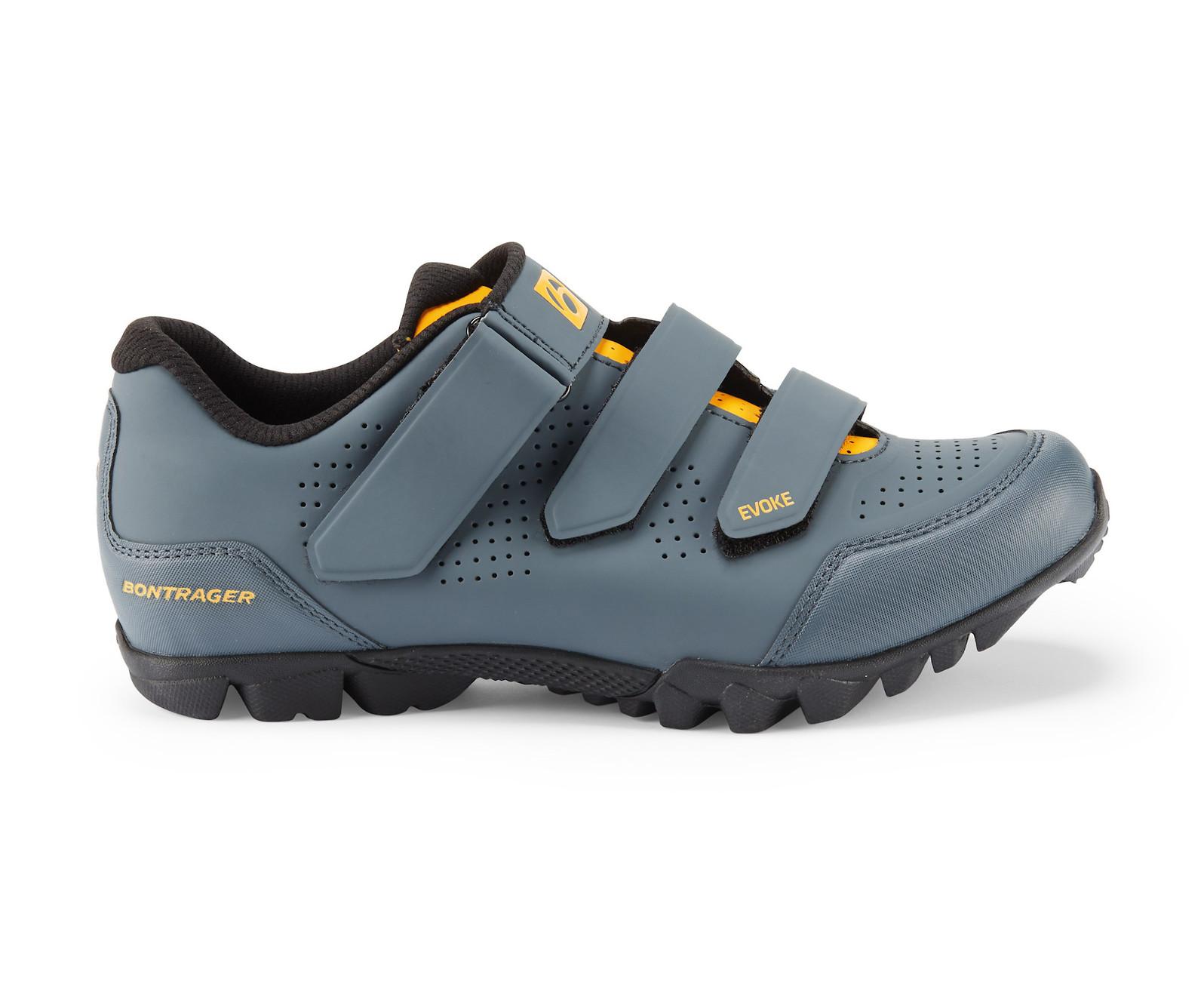 Bontrager Evoke Mountain Shoe (Battleship Blue/Marigold)