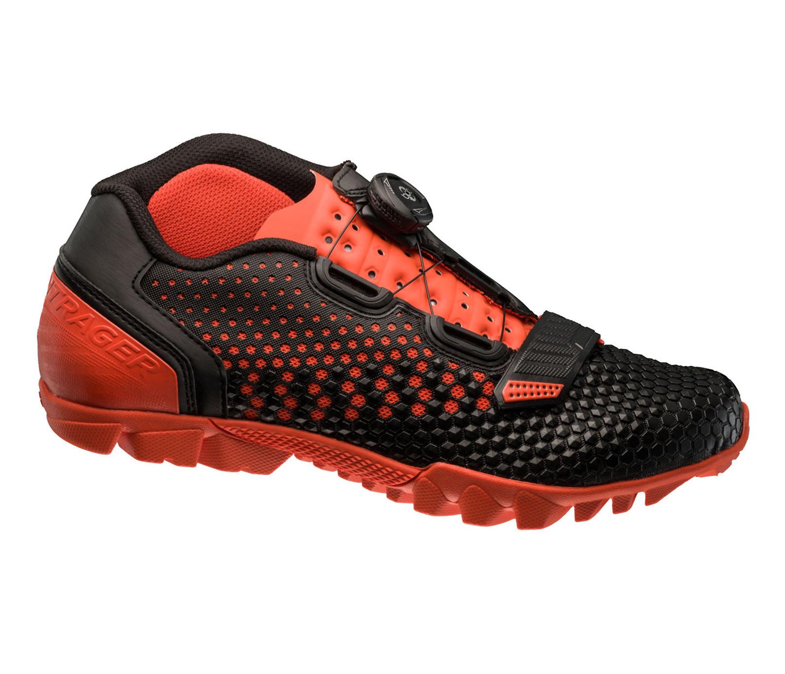 Bontrager Rhythm Mountain Shoe (Black/Roarange)