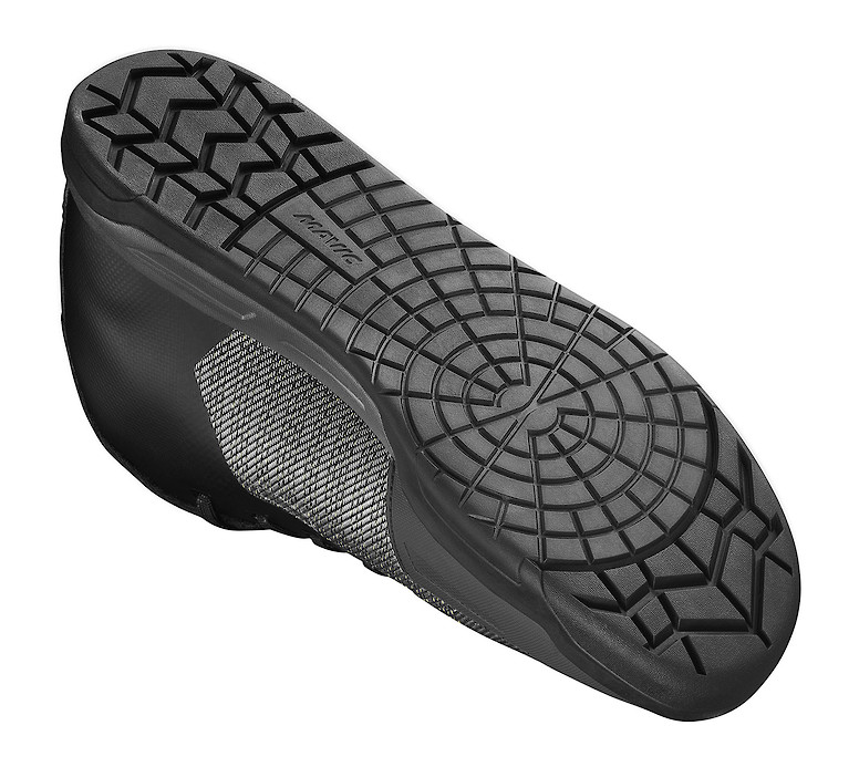 Mavic Deemax Pro Flat Pedal Shoe's Spider Patterned Sole