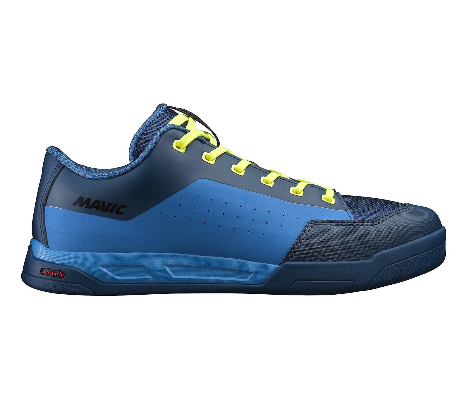 Mavic Deemax Elite Flat Pedal Shoe (Poseidon/Indigo Bunting)
