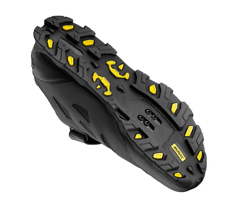 Mavic XA Elite Shoe (Black/Black) Sole