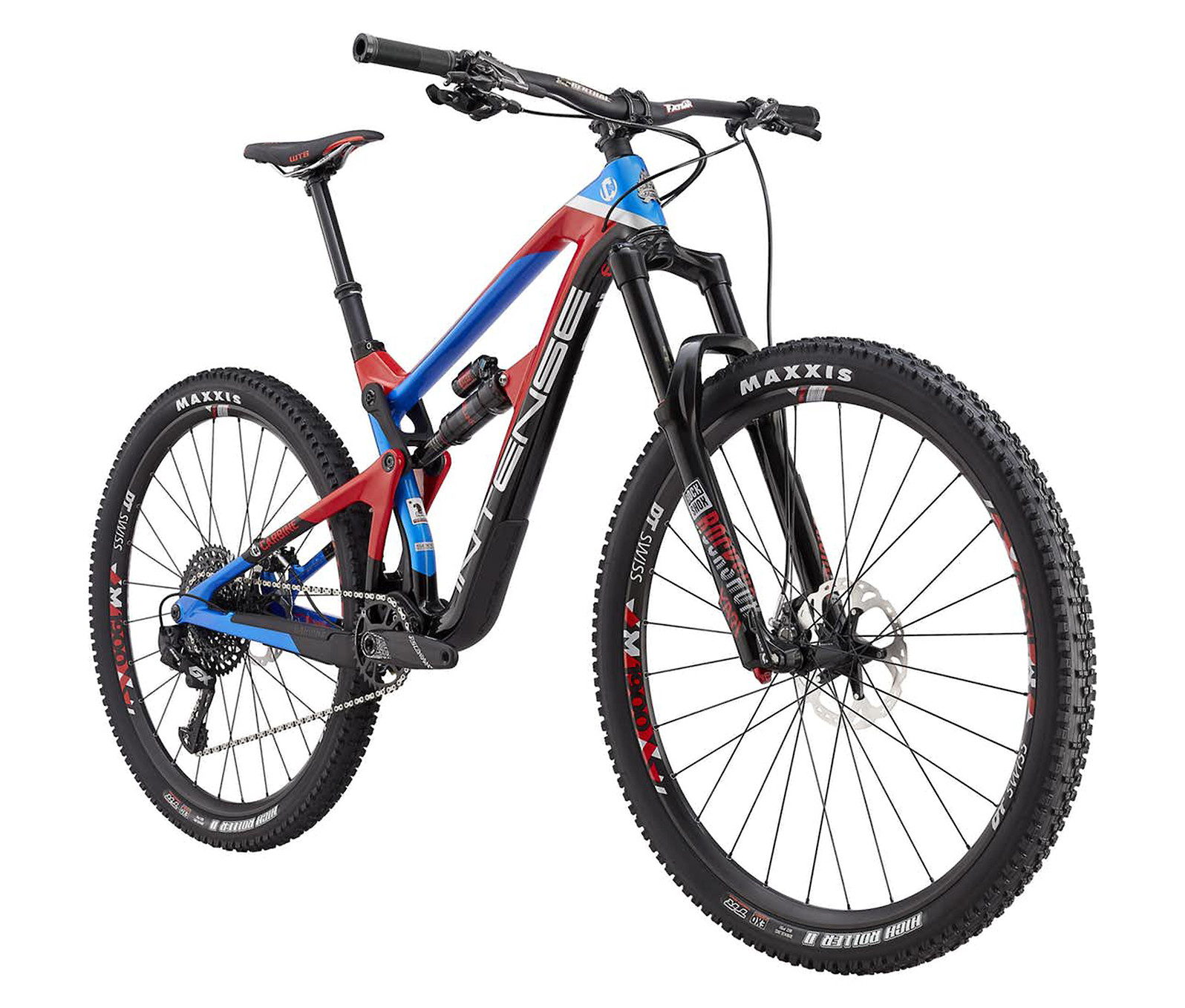 2019 Intense Carbine Expert Bike (blue/red)