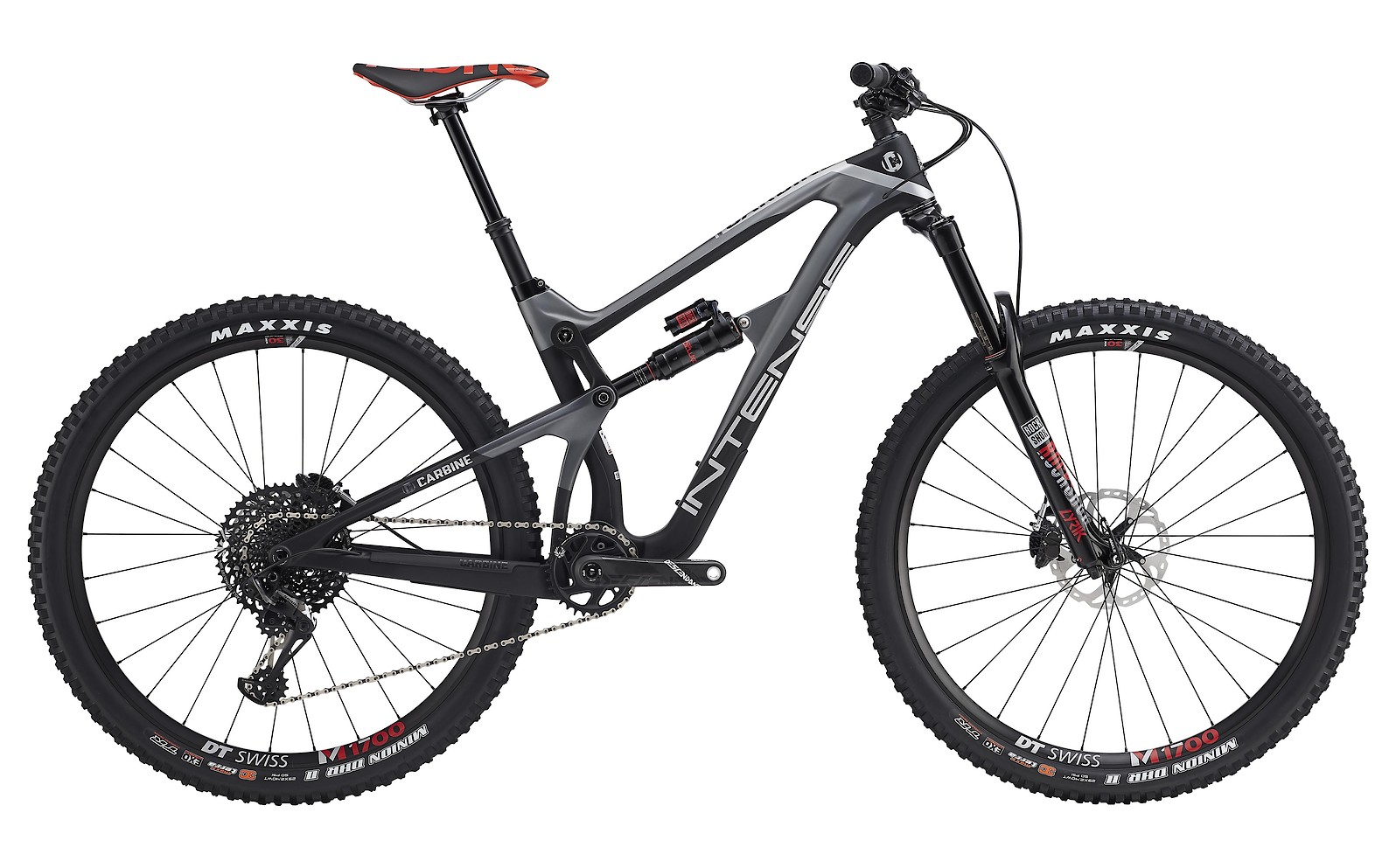 2019 Intense Carbine Pro Bike (grey/black)
