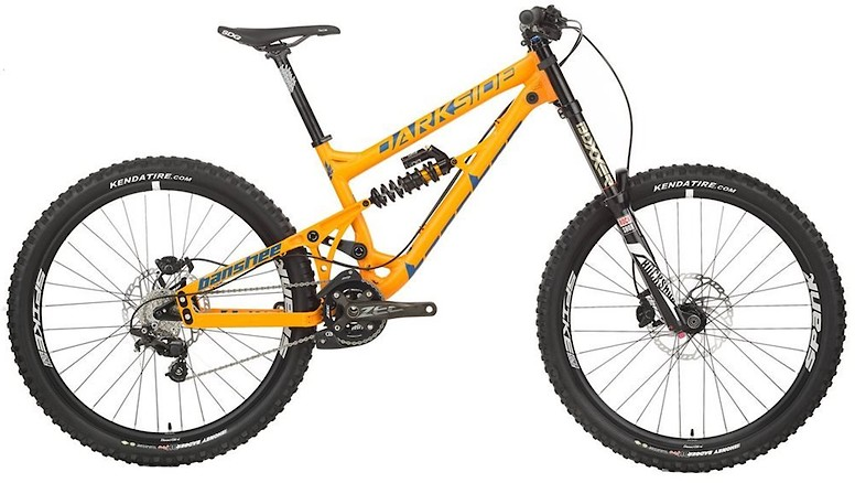 2019 Banshee Darkside Zee Coil Jenson USA Exclusive - Orange