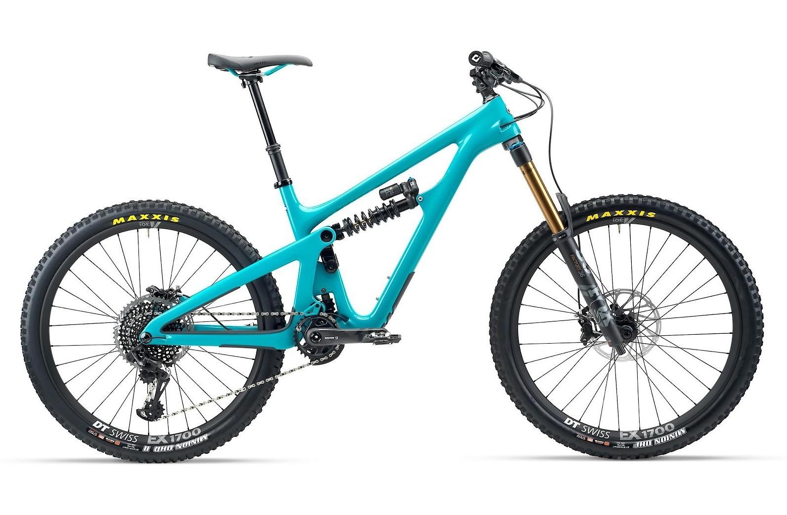 2020 Yeti SB165 Turquoise - T2 Version Shown
