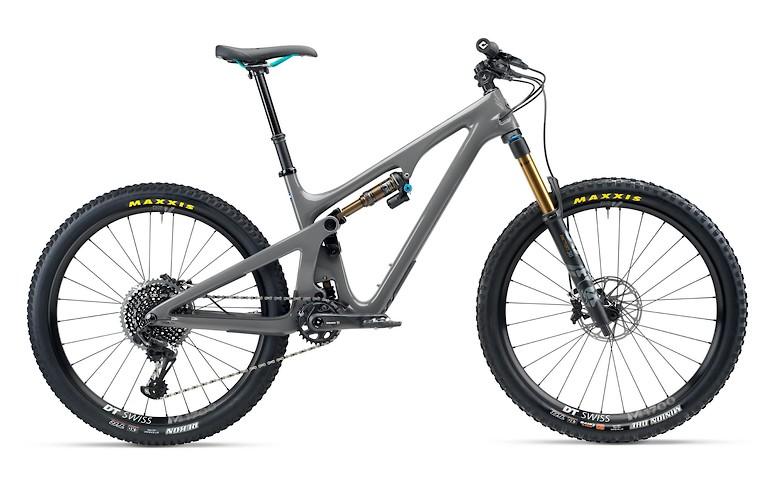 2020 Yeti SB140 T2 bike in grey
