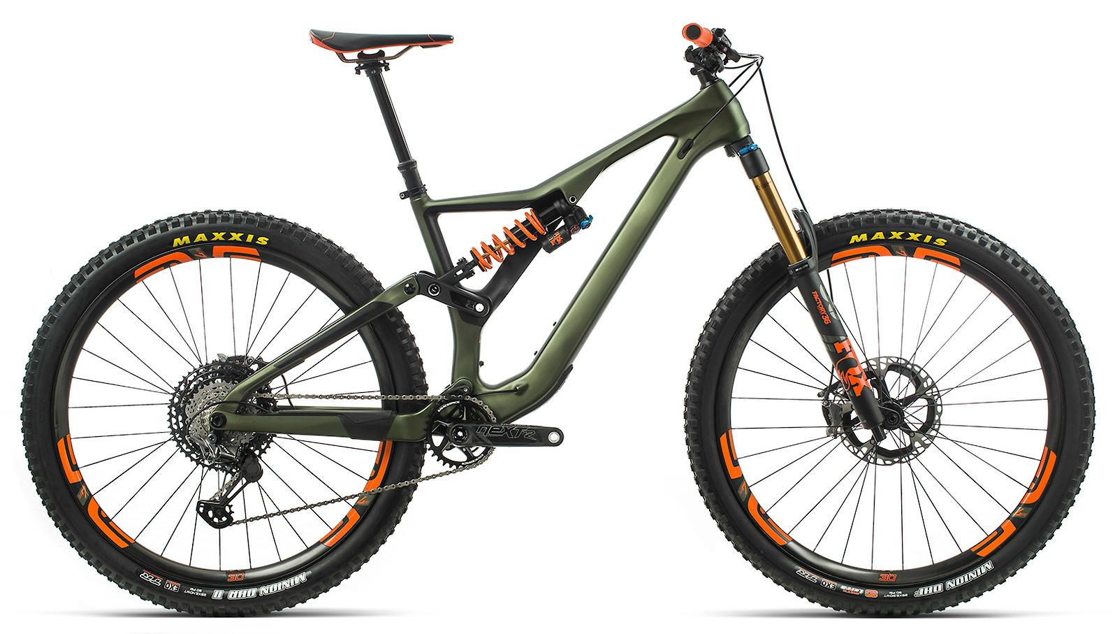 2020 Orbea Rallon M-LTD in green/orange