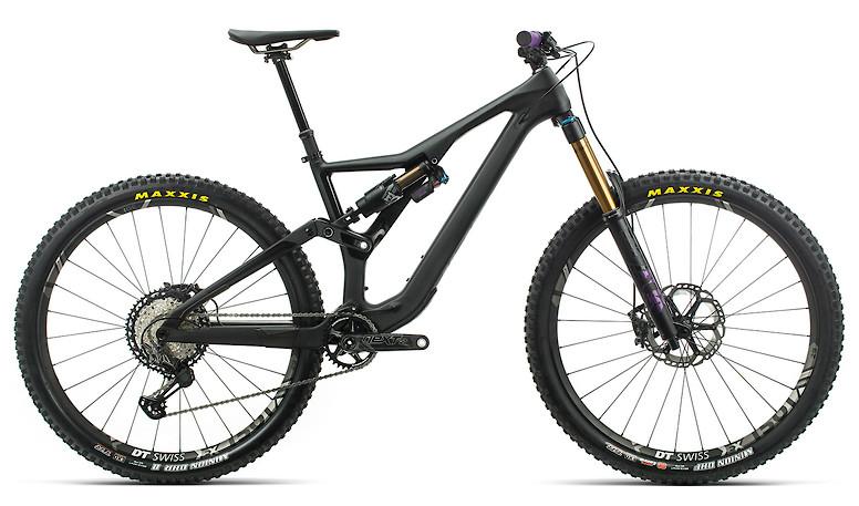 2020 Orbea Rallon M-Team in black/black-purple
