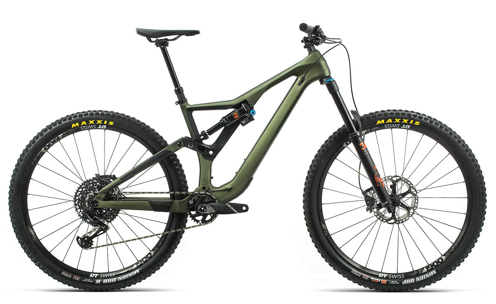 2020 Orbea Rallon M10 in green/orange