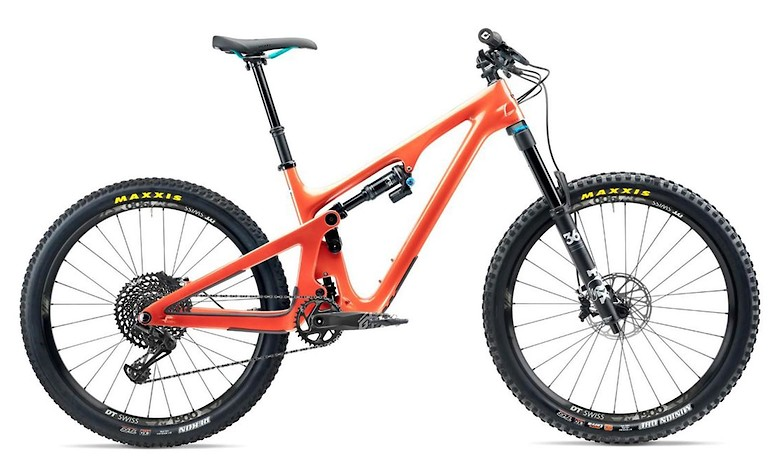 2020 Yeti SB140 in inferno with C1 build