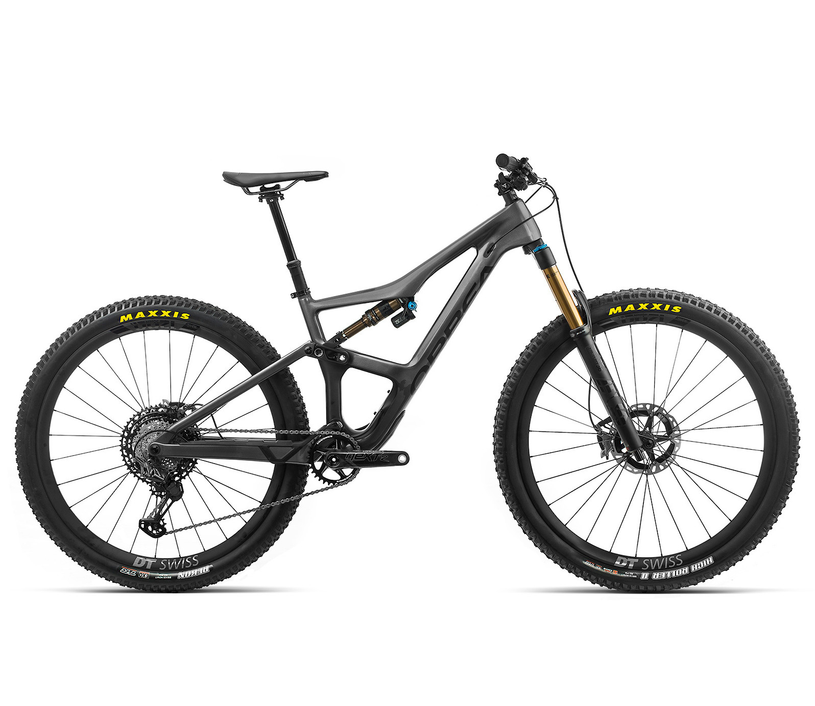 2020 Orbea Occam M-LTD in anthracite glitter/black