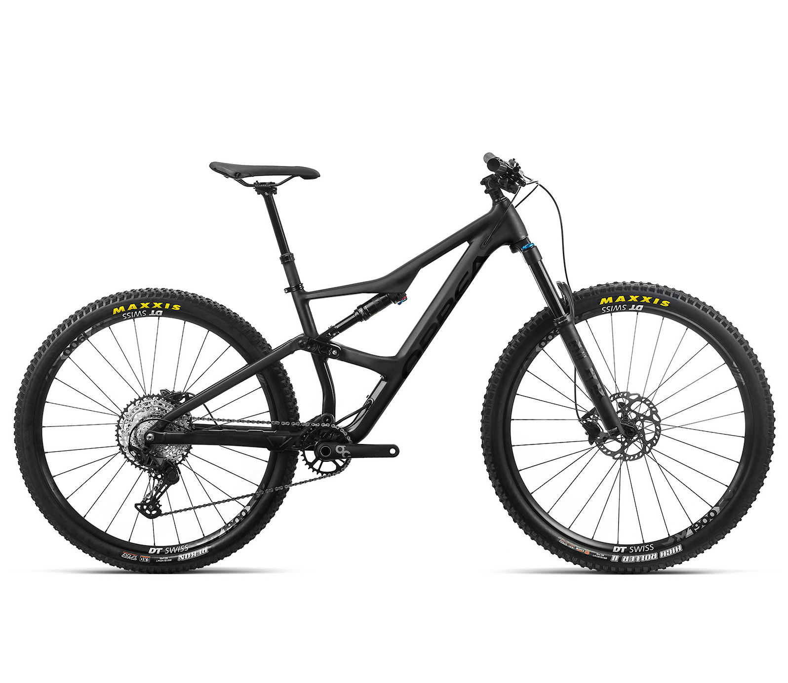 2020 Orbea Ocam H30 in metallic black (with optional equipment)